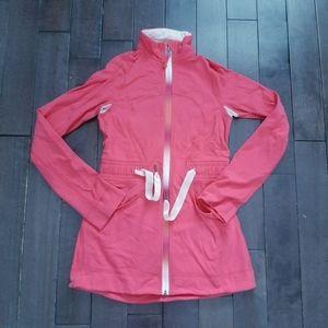 Lululemon Coral Pink Yohari Jacket Size 4